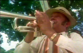 And the ice cream man played the trumpet ...